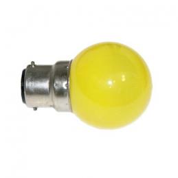 Lampe B22 LED SMD Jaune ø...