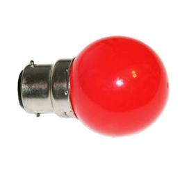 Lampe B22 LED SMD Rouge ø...