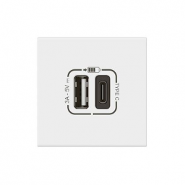 Chargeur usb type-a + usb...