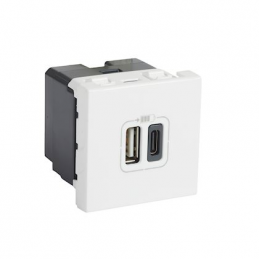 Chargeur blanc usb type a...