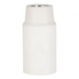 Douille E14 TP Lisse Blanc