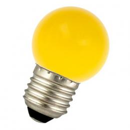 LED G45 E27 240V 1W Jaune...