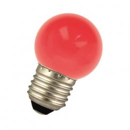 LED G45 E27 240V 1W Rouge...