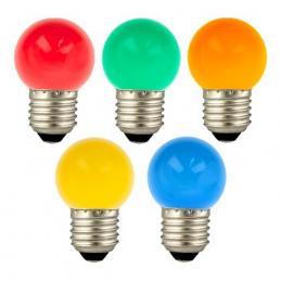 EcoPack 5pcs LED G45 E27 1W...