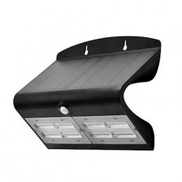 Projecteur LED solaire noir...