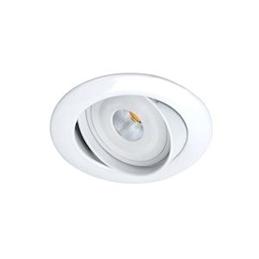 Aric GALAXY - Encastré GU10  rond  basc.  blanc  a/lpe LED 6W 2700K 460lm incl. - 5205