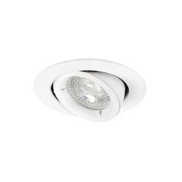 Aric SPEED 90 - Encastré GU10  rond  basculant  blanc  lampe non incl. - 4897