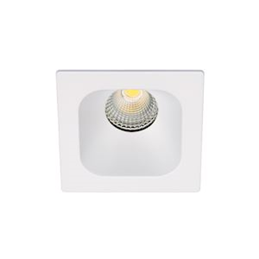 Aric IVARO - Downlight carré fixe blanc  IP44  LED intég. 36DEG 7 5W 4000K 620lm - 50444