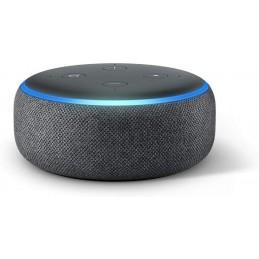 Amazon Echo Dot (3ème génération), Enceinte connectée avec Alexa, Tissu anthracite