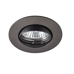 Europole BE BETTER bague rond noir orientable GU10 IP20 - 2315