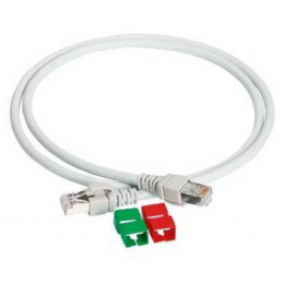 CORD SFTP CAT6A 550MHZ 1M -...