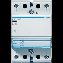 Contact 40A, 4F, 230V - ESC440