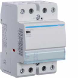 Contact sil 40A, 2F, 230V -...